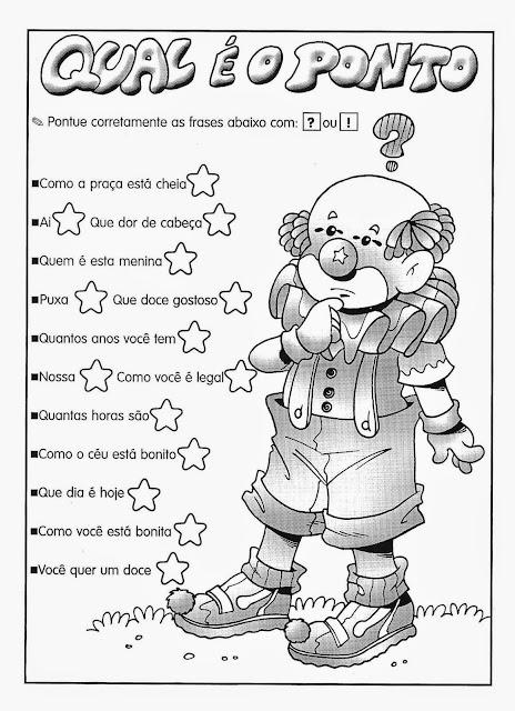Exercícios de português 2 ano fundamental