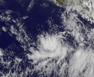 System 92-E vor Mexiko wird voraussichtlich bald zum Tropischen Sturm BUD, Bud, Mai, 2012, Hurrikansaison 2012, Nordost-Pazifik, Pazifik, Pazifische Hurrikansaison, Mexiko, aktuell, Satellitenbild Satellitenbilder,