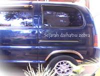 Sejarah Daihatsu Zebra, Agung Ngurah Car
