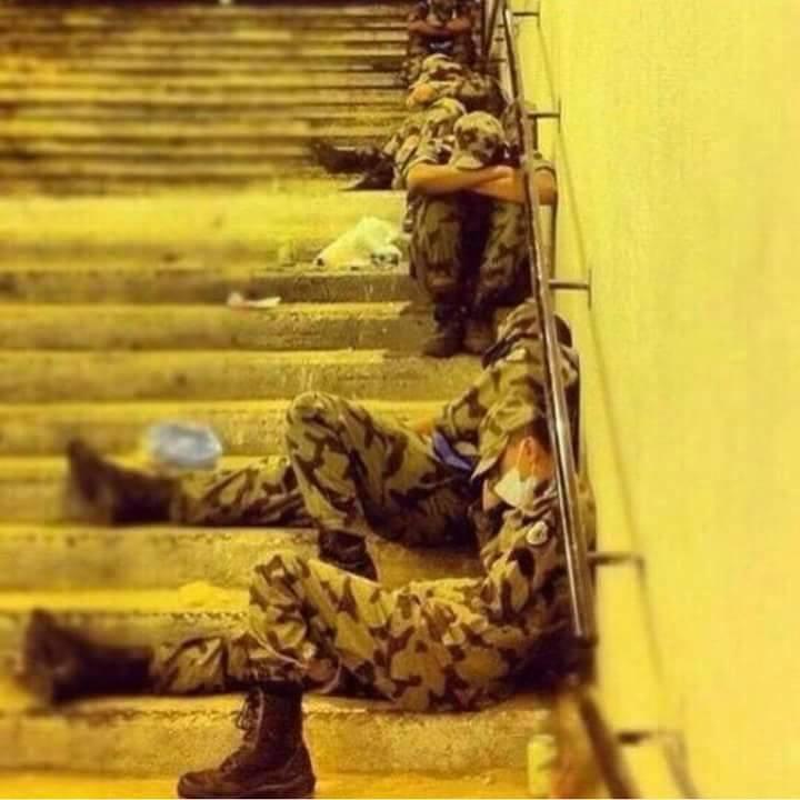 'Askar Saudi; Pahlawan yang Dicaci
