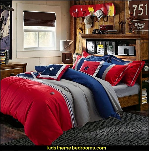 Decorating theme bedrooms maries manor boys bedroom for American bedrooms