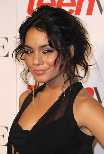 Vanessa Hudgens Hairstyles 2012