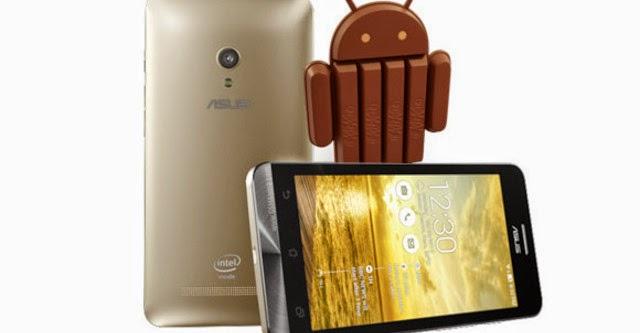 Cùng với Zenfone 4, ZenFone 5 và 6 lên đời Android 4.4 KitKat