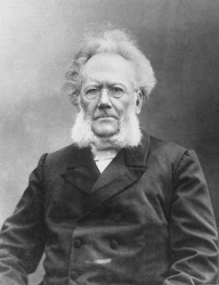 biography of henrik ibsen Henrik johan ibsen was born to knud ibsen and his wife marichen on march 20,  1828 in the small town of skien on the coast of norway (meyer.