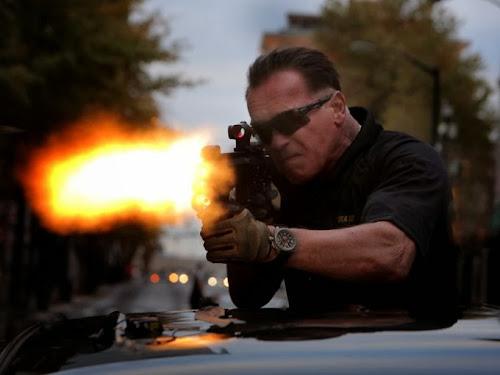 Novas imagens e trailler do filme -Sabotage- com Schwarzenegger, Confira!