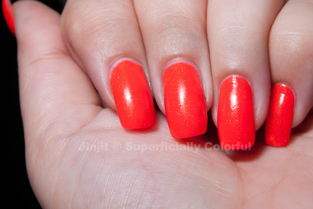 Shimmer Jelly Watermelon The Nail Junkie