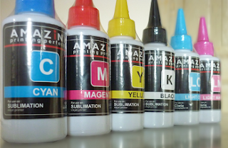 Kombinasi 6 Warna Tinta