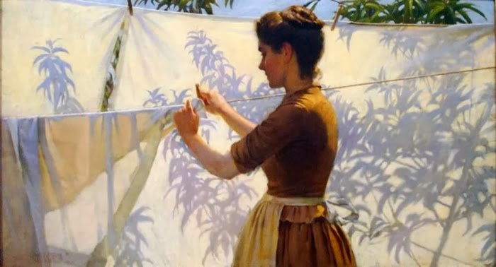 Charles Courtney Curran   American Impressionist Painter   1861-1942