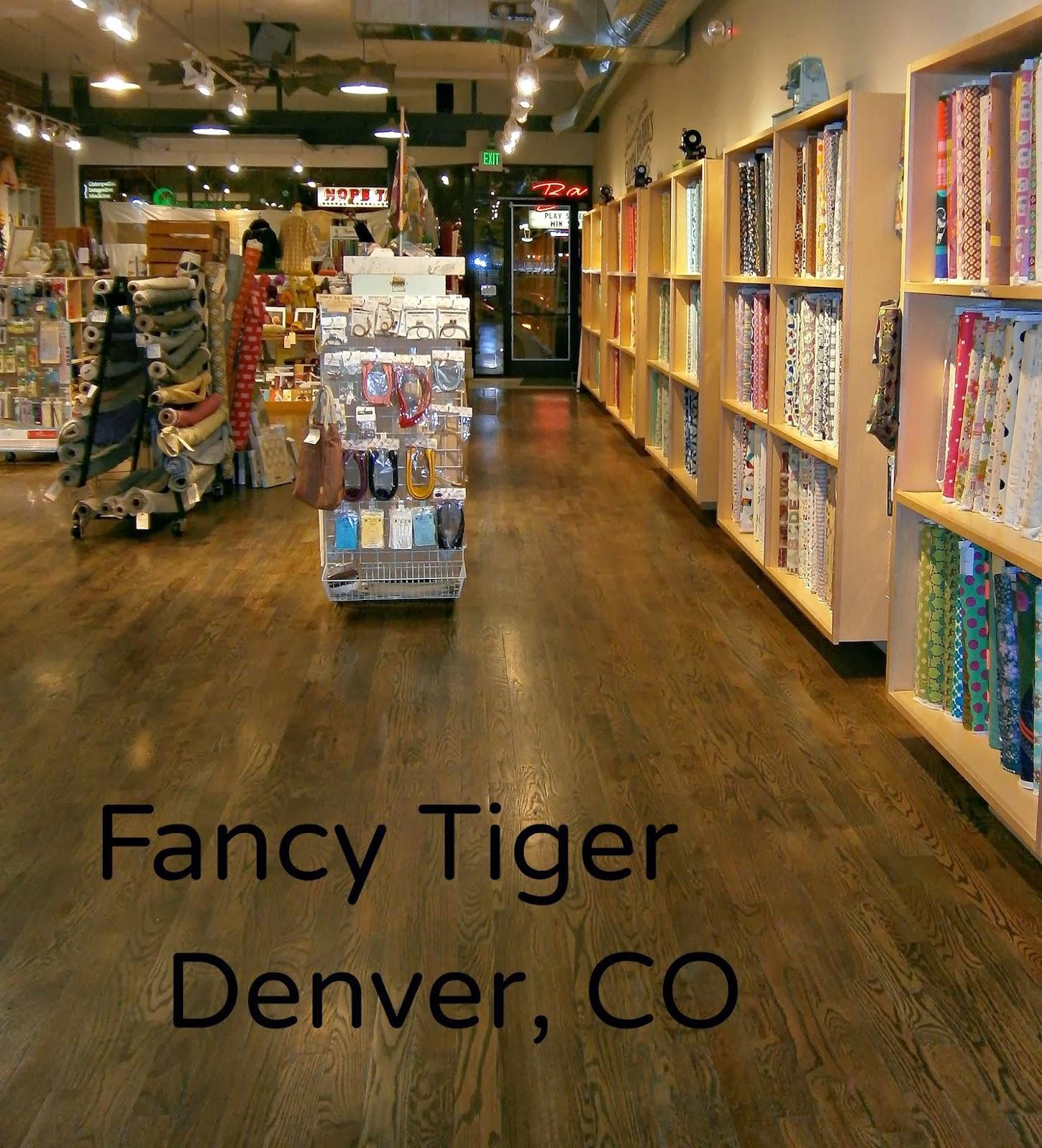 Secretly Stitching: Fancy Tiger Fabric Shop, Denver, CO Review