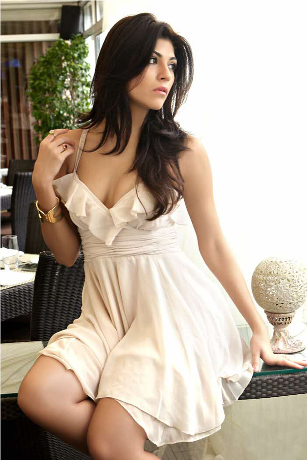 Archana Vijaya in short white dress - IPL  Archana Vijaya FHM 2012 photoshoot