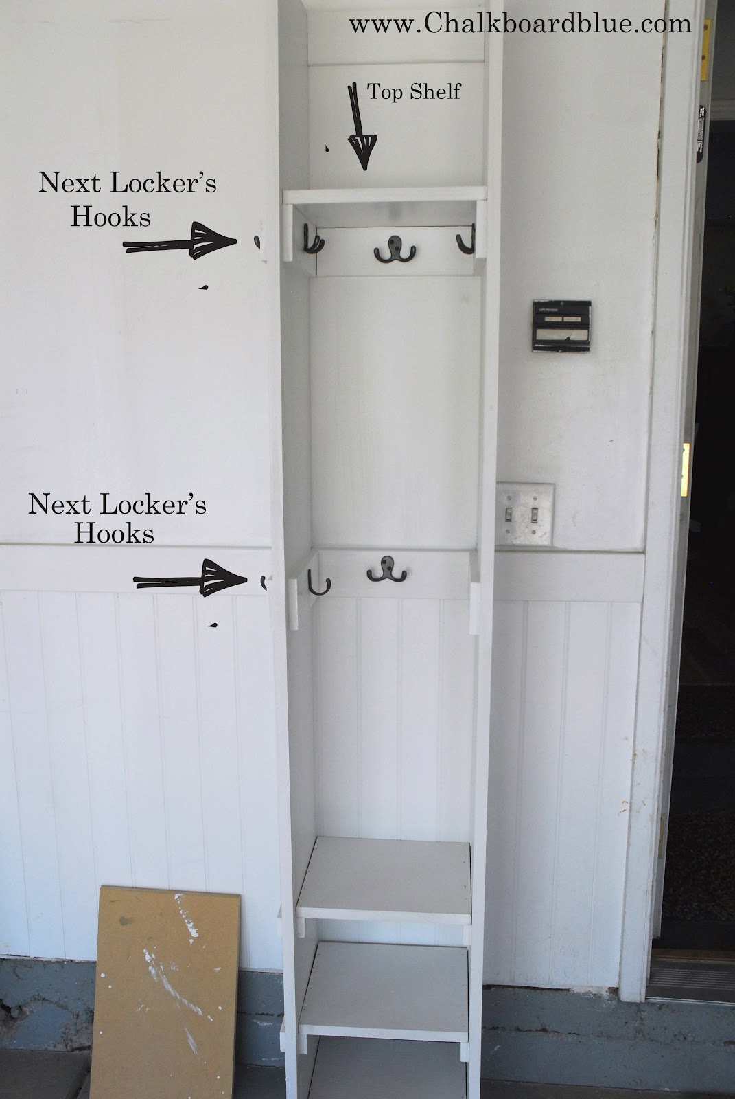 how to build a propane locker
