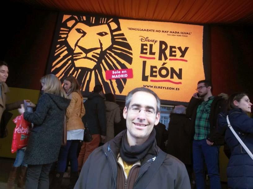 Musical El Rey Leon en Madrid