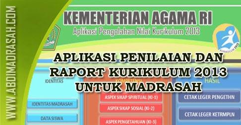 Aplikasi Penilaian Dan Raport K13 Madrasah