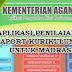 Download Aplikasi Penilaian Dan Raport Kurikulum 2013 Untuk Madrasah (MI, MTs dan MA)