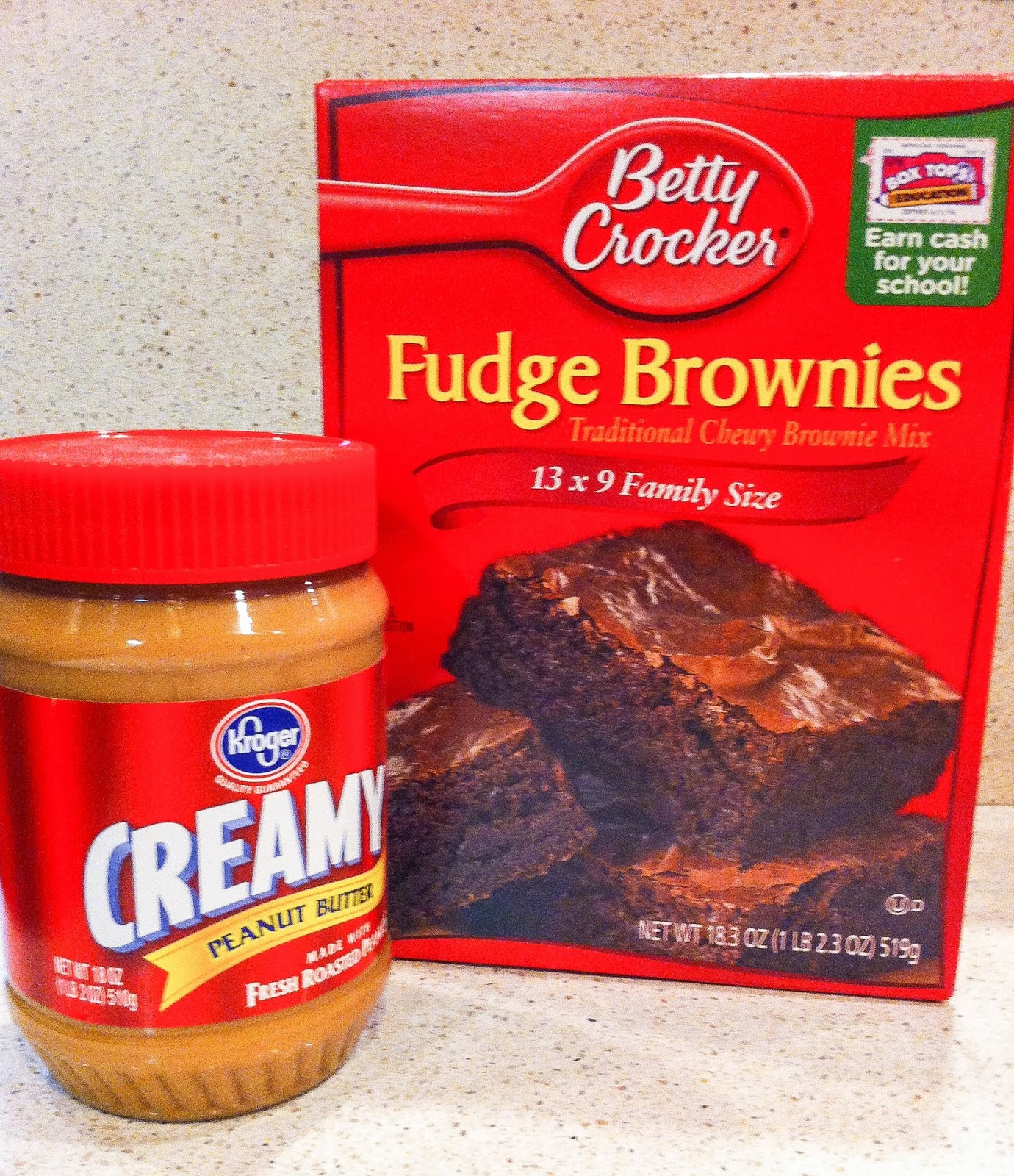 Sweet, simple, no fail peanut butter brownies that everyone loves.  Alohamora Open a Book http://alohamoraopenabook.blogspot.com/