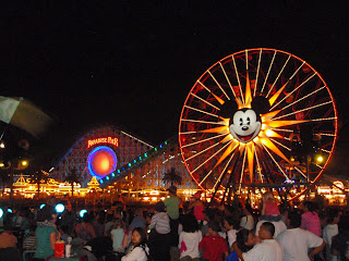 Paradise Pier Before World of Color