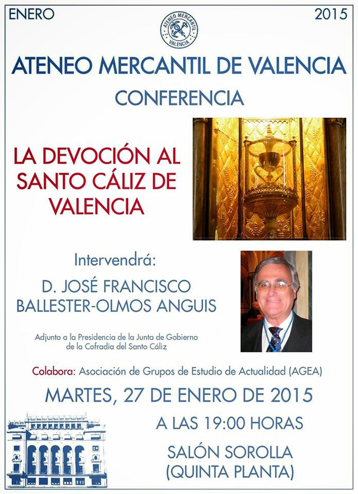 CONFERENCIA DE BALLESTER-OLMOS, 27.01.2015