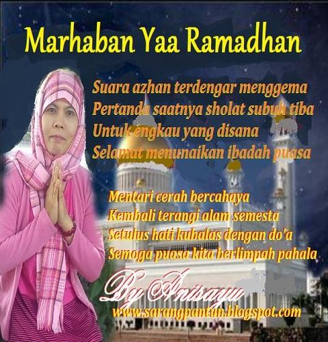 Pantun Ucapan Selamat Makan Sahur Selamat Berpuasa Bulan Suci Ramadhan Berbalas