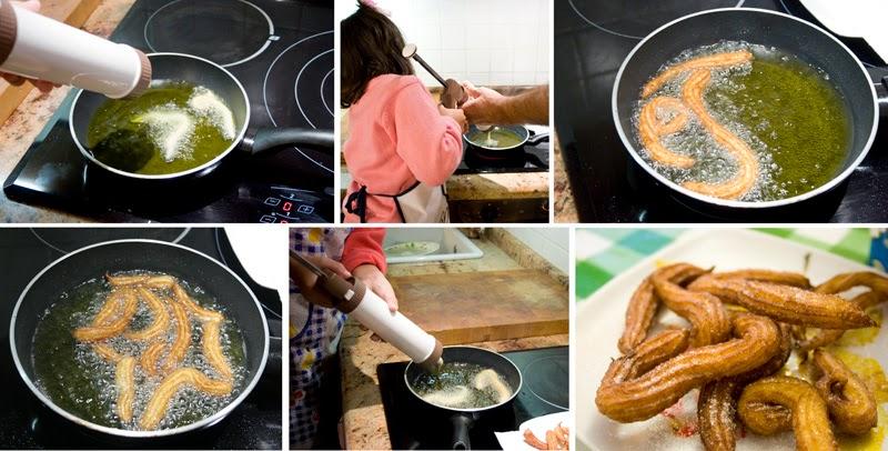 Receta de churros con los niños | DEF Deco - Decorar en familia4
