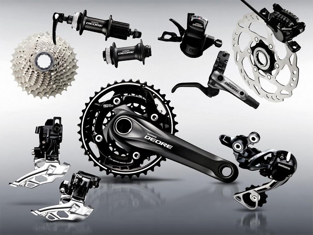 Jual Groupset Shimano deore 2014 10 speed sepeda mtb gunung downhhill terjangkau dan murah