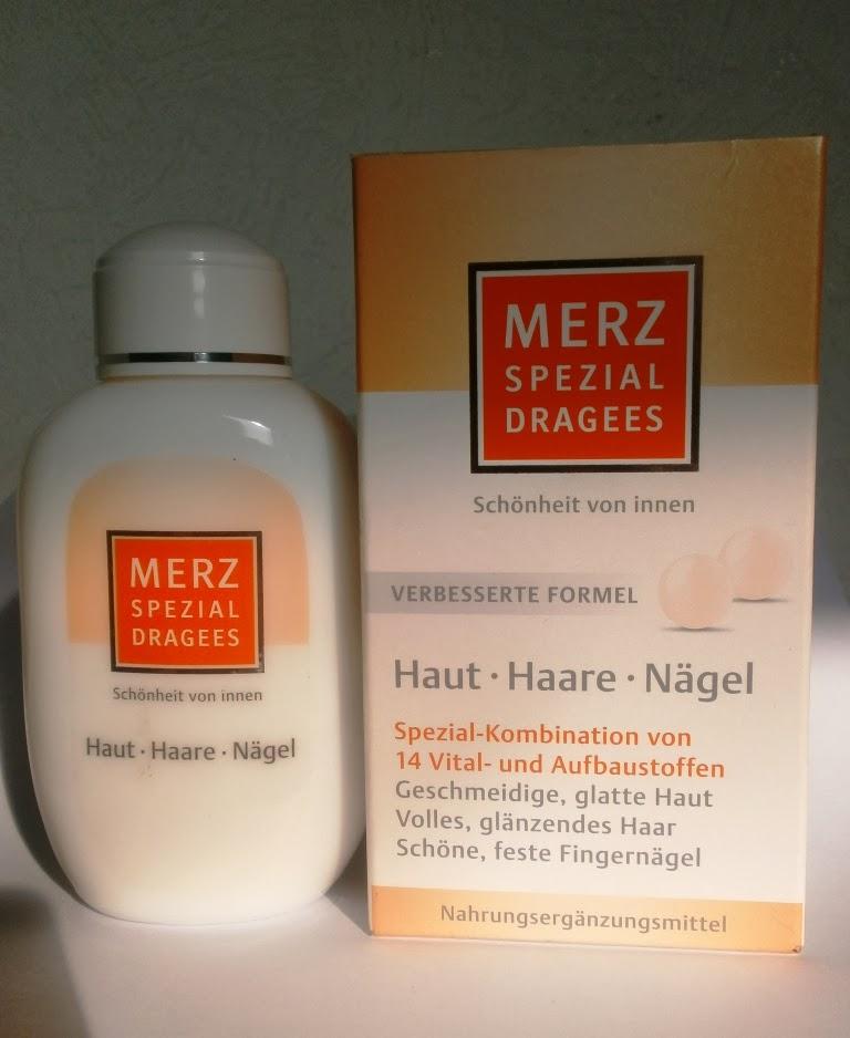 Merz Spezial Dragees Haut Haare Nägel отзыв
