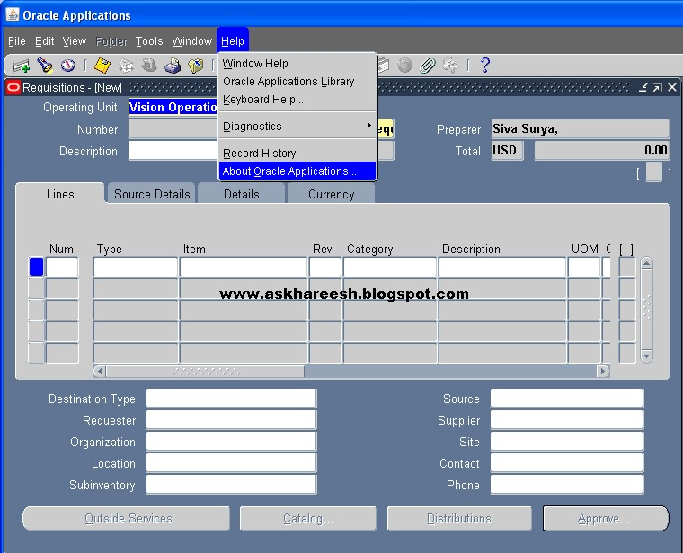 How to make a Form as READ ONLY in Oracle Apps, askhareesh blog for Oracle Apps