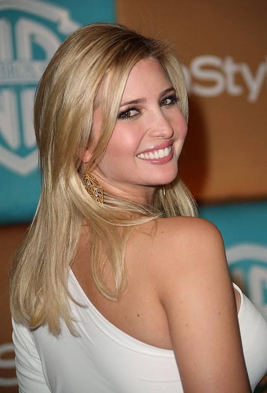Top 20 Hollywood Celebrities Fashionable Blonde Hairstyles - Ivanka Trump