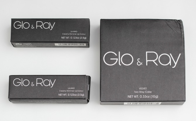 Glo & Ray packaging