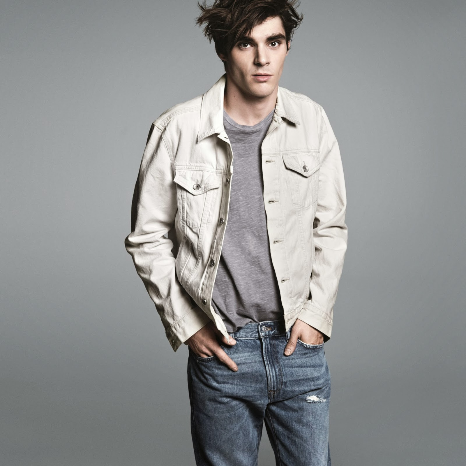 Theophilus London, RJ Mitte and Ernest Green for GAP 'Lived-In' Campaign