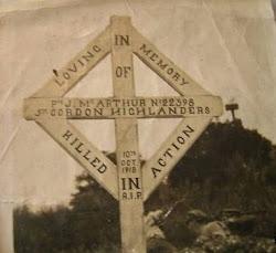 Grave of S/22398 John McArthur