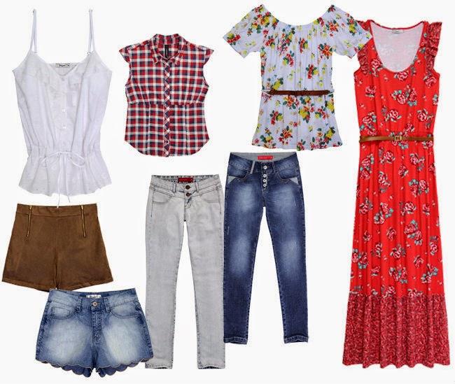 Ofertas Pernambucanas moda roupas