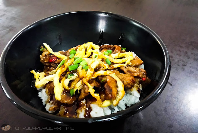 Spicy Beef Rice Bowl of Nitz Restaurant