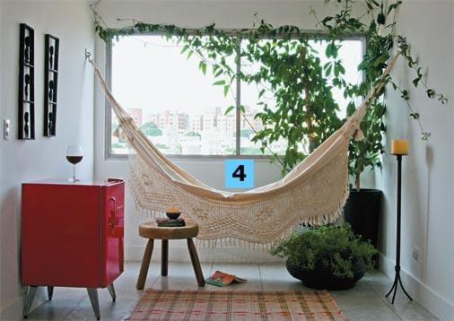 decoracao alternativa de casas : decoracao alternativa de casas:blog de decoração – Arquitrecos: Rede na salaEu gosto e você?!!