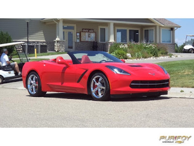 2014 Chevrolet Corvette Stingray Convertible at Purifoy Chevrolet