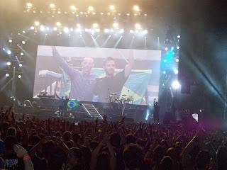 Linkin Park na Arena Anhembi (São Paulo, 2012) - por William Melo