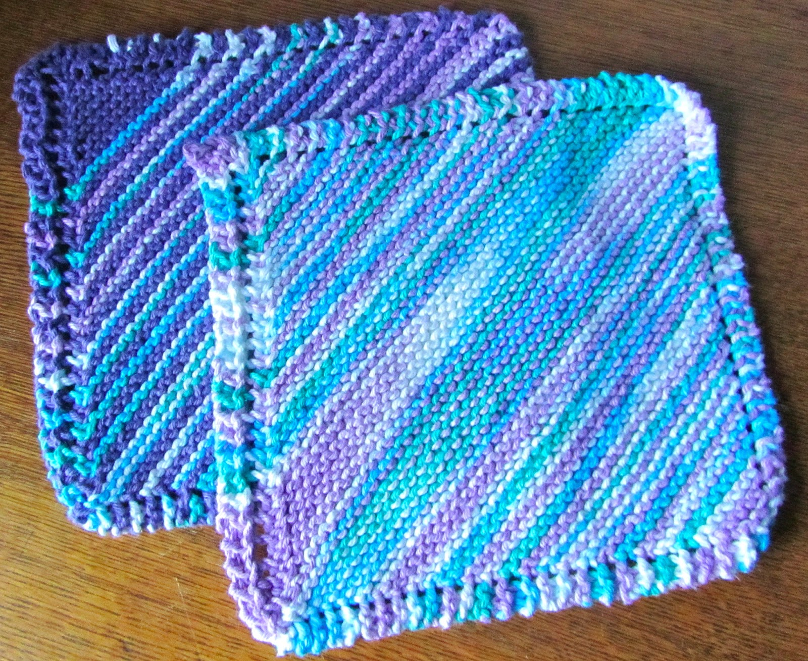 Knitting Granny Dishcloth : Finished object friday