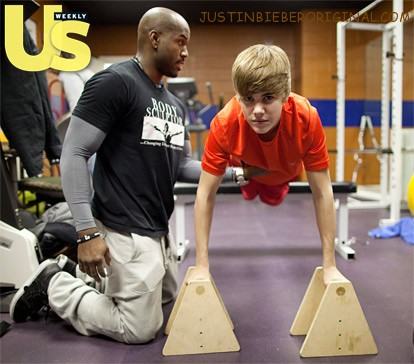 Justin Bieber 2012 Muscles