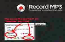 Record Mp3: grabar audio en mp3 online en forma gratuita