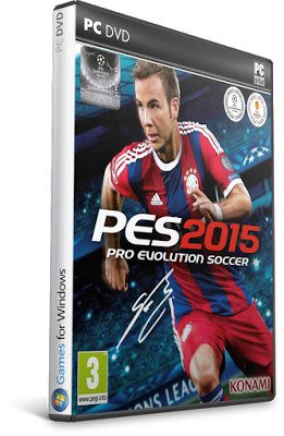 Download Pro Evolution Soccer PES 2015 FOR PC Game RELOADED Full Version gratis