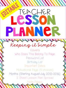https://www.teacherspayteachers.com/Product/The-SIMPLE-EDITABLE-Teacher-Planner-2002265