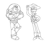 #5 Toy Story Coloring Page