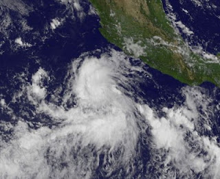 Tropischer Sturm ILEANA vor Mexiko, 2012, aktuell, August, Hurrikansaison 2012, Ileana, Mexiko, Nordost-Pazifik, Pazifische Hurrikansaison