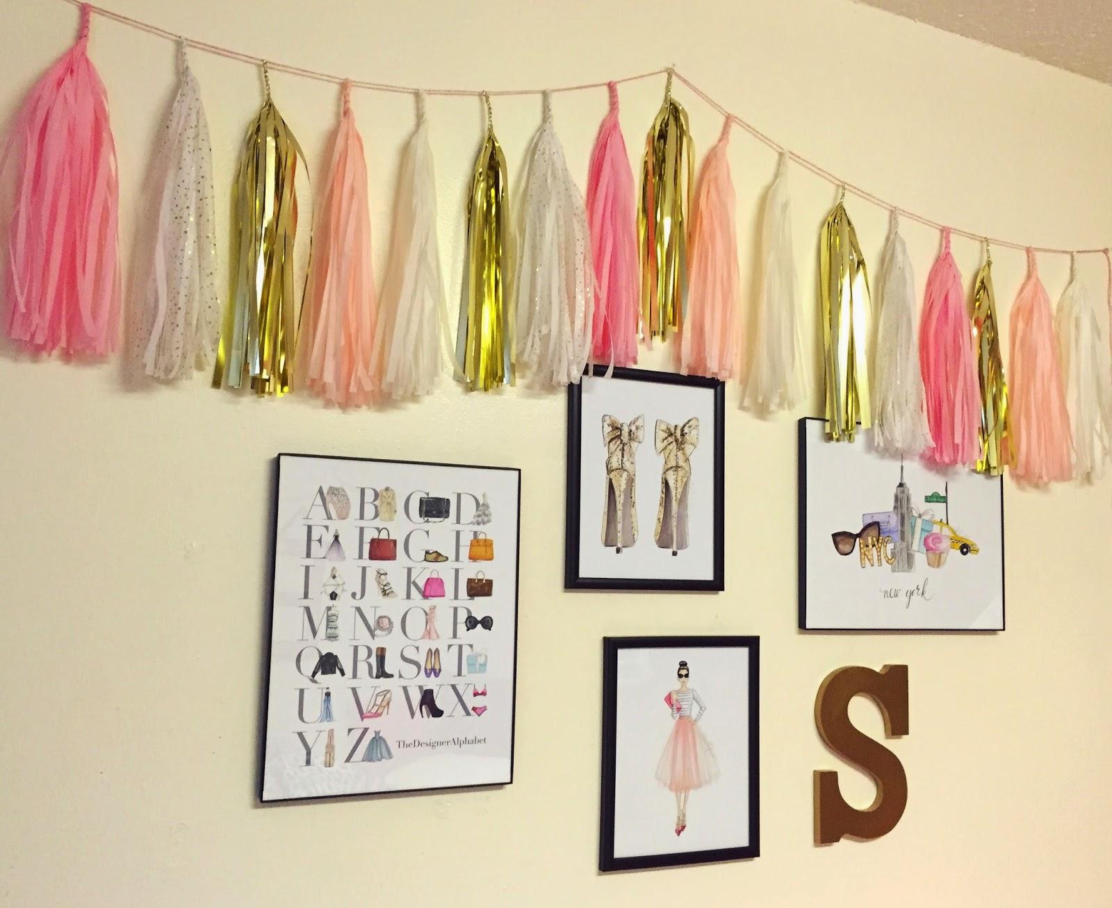 Kiss of Pink: New Semester, New Dorm Decor!