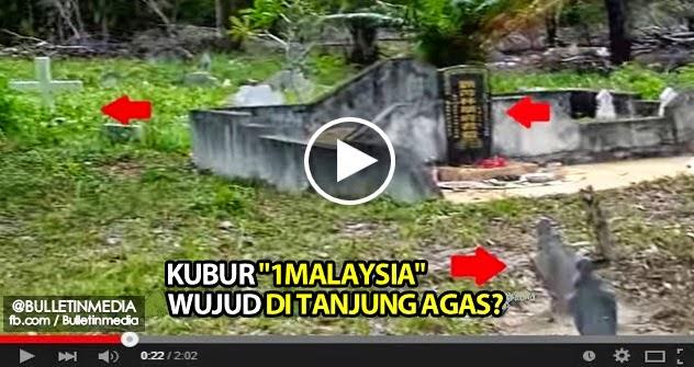 Video Kubur 1 Malaysia Wujud Di Tanjung Agas Biar Betul