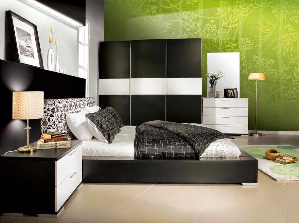 Desain Kamar Tidur Modern Bergaya Inggris