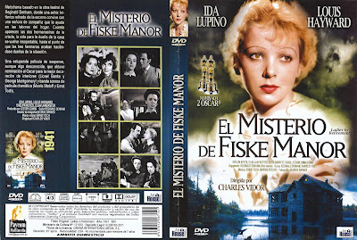 Caratula, Cover, Dvd: El misterio de Fiske Manor | 1941 | Ladies in Retirement El misterio de Fiske Manor | 1941 | Ladies in Retirement