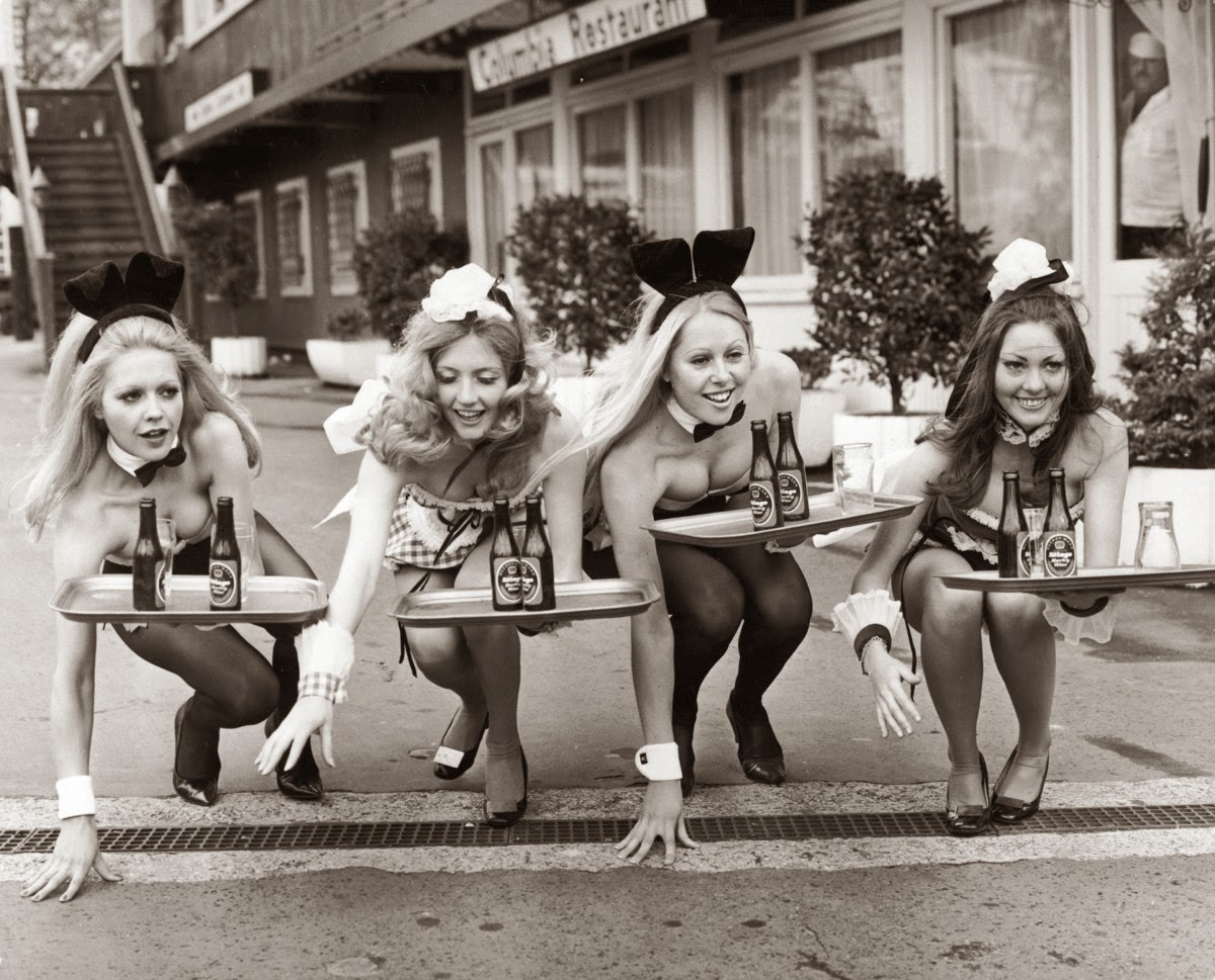 A Look Back on The Retro Playboy Bunny Costumes ~ vintage everyday