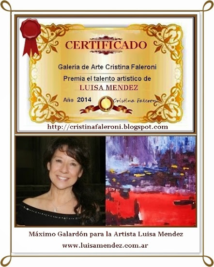 Luisa Mendez - Premio