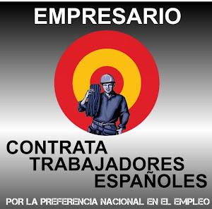 EN ESPAÑA: PRIMERO EMPLEADOS ESPAÑOLES