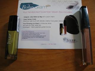 Julep Maven Boho Glam November, Julep Extravagance Lip Gloss, Julep Selena